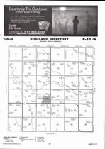 Roseland Township, Scott Creek Directory Map, Adams County 2007